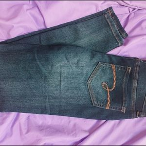 Justice mid-rise jegging jeans 🦋